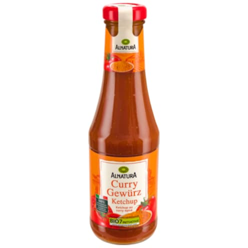 Alnatura Curry Gewürz Ketchup 0,5 l