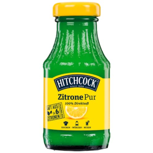Hitchcock Zitrone Pur 0,2 l