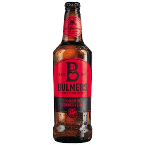 BULMERS Crushed Red Berries & Lime 0,5 l