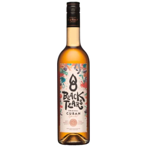 Black Tears Original Cuban Spiced Rum 35 % vol. 0,7 l