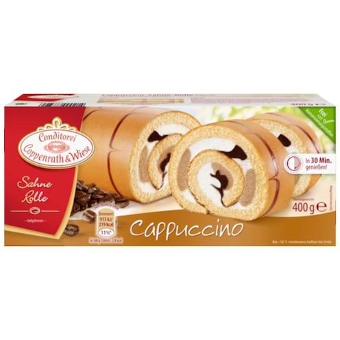 Conditorei Coppenrath & Wiese Sahne Rolle Cappuccino 400 g