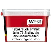 West Red Volume Tobacco Box 185 g