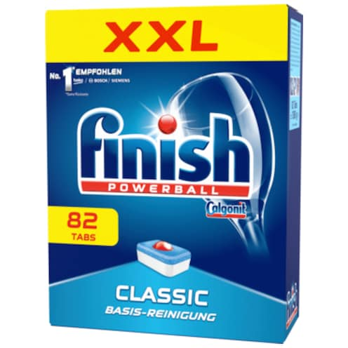 finish Classic Basis-Reinigung 82 Tabs