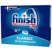 finish Classic Basis-Reinigung 32 Tabs