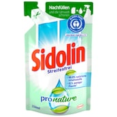 Sidolin Pronature Sensitive Glasreiniger Nachfüller 250 ml