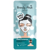 The Beauty Mask Company Bubble Tuchmaske Tiefenreinigung mit Aktivkohle