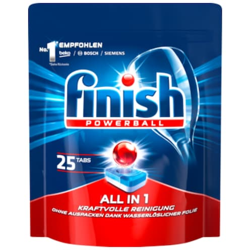 finish Powerball All in 1 Tabs 25 Tabs