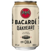 BACARDÍ Oakheart and Cola 10 % vol. 0,33 l