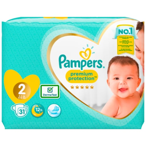 Pampers Premium protection new baby 31 Stück