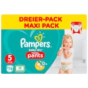 Pampers Baby Dry Junior Pants Gr.5 12-17kg Dreier-Pack 3 x 26 Stück