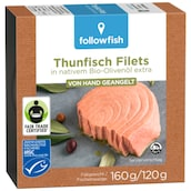 followfish Thunfisch Filets 160 g