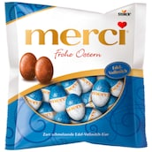 merci Ostereier Frohe Ostern Edel-Vollmilch