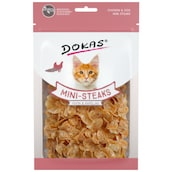 Dokas Mini-Steaks Huhn & Kabeljau 70 g