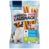 EDEKA I love Dental Plus Kausnack 7 Stück