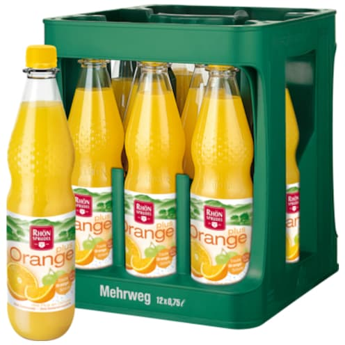 Rhön Sprudel Orange Plus - Kiste 12 x 0,75 ml