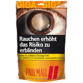 Pall Mall Volume Tobacco Red Giga Zip-Bag 150 g