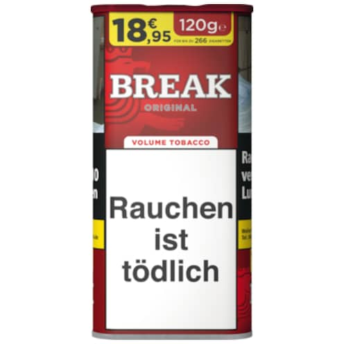 BREAK Original Volumen Tobacco XXL 120 g