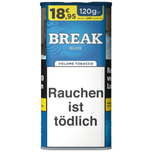 BREAK Blue Volumen Tobacco 120 g