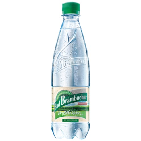 Bad Brambacher Mineralwasser Medium 1 l