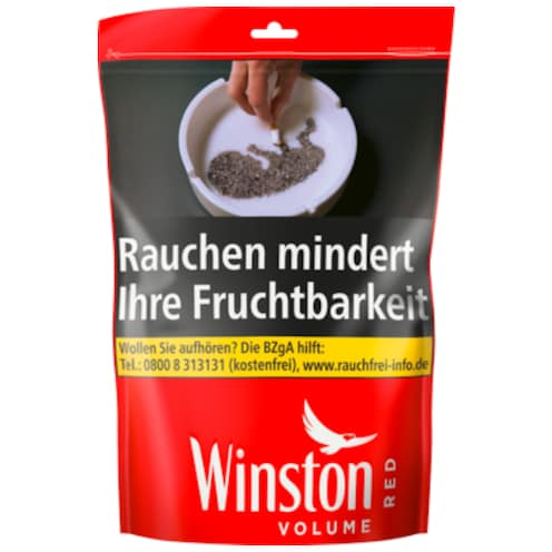 Winston Volume Tobacco Red XXL 150 g