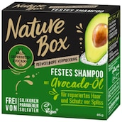 Nature Box Festes Shampoo Avocado-Öl 85 g