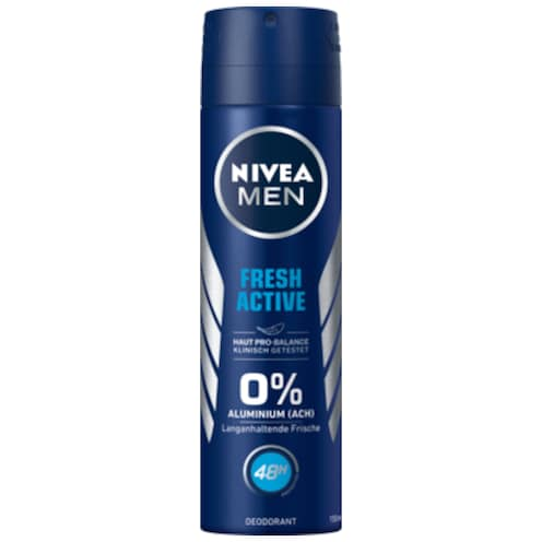 NIVEA MEN Deospray Fresh Active 150 ml