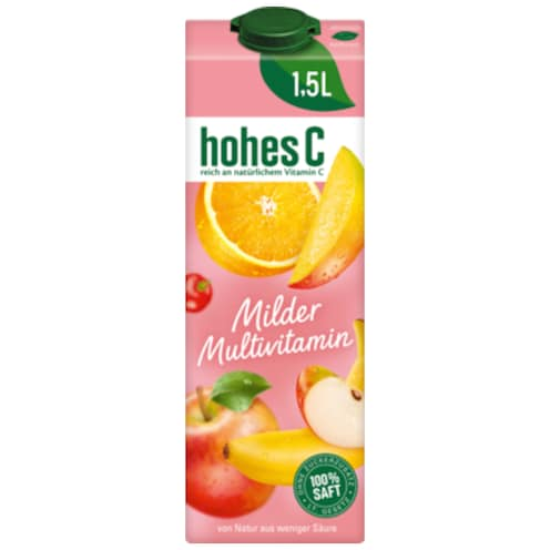 hohes C Milder Multivitamin 1,5 l