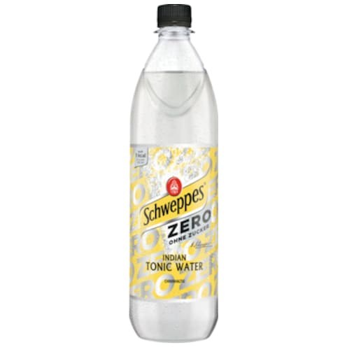 Schweppes Indian Tonic Water Zero 1 l
