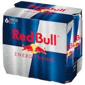 Red Bull Energy Drink - 6-Pack 6 x 0,25 l