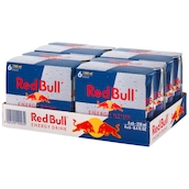 Red Bull Energy Drink - Tray 4 x 6 x 0,25 l