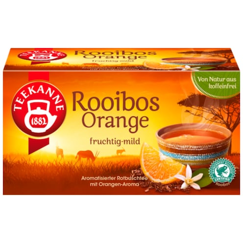 Teekanne Rooibos Orange 35 g
