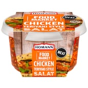 HOMANN Food Market Chicken Teriyaki Salat 150 g