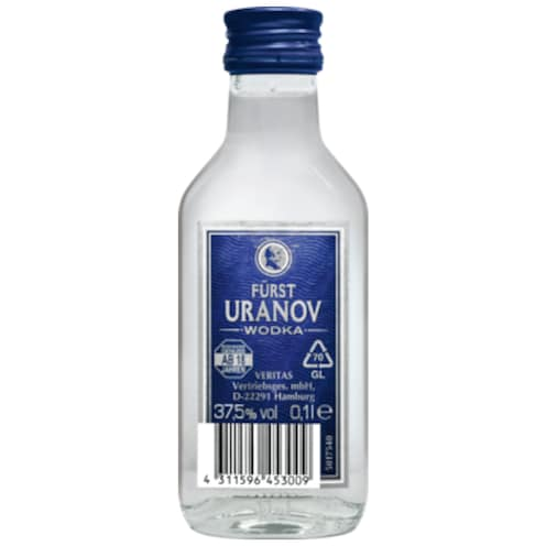 FÜRST URANOV Wodka 37,5% vol. 0,1 l