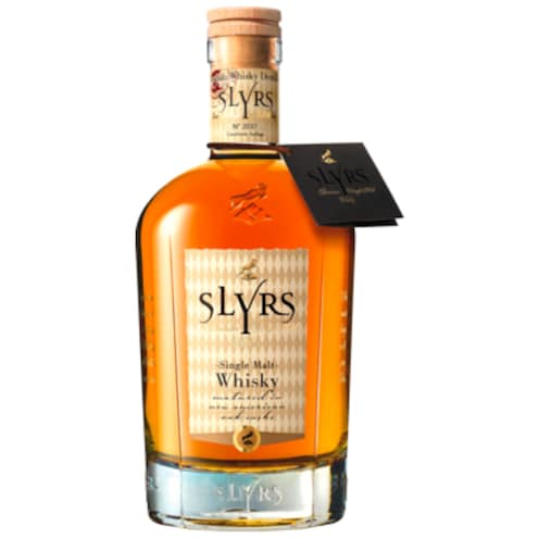 Slyrs Bavarian Single Malt Whisky 43% 0,7l 0,7 l