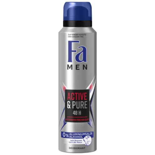 Fa Deospray Men Active & Pure 150 ml