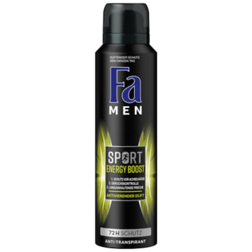 Fa Men Deospray Sport Energy Boost 150 ml