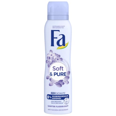 Fa Soft & Pure Deodorant 150 ml