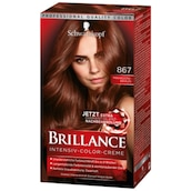 Schwarzkopf Brillance Intensiv Color Creme 867 Mahagoni-Braun 165 ml