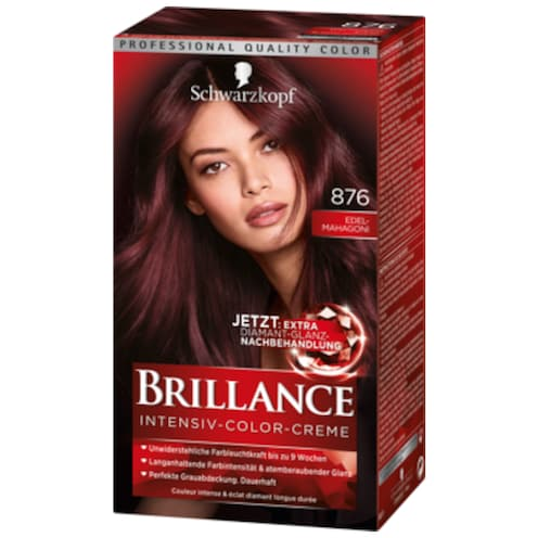 Schwarzkopf Brillance Intensiv Color Creme 876 Edelmahagoni 143 ml