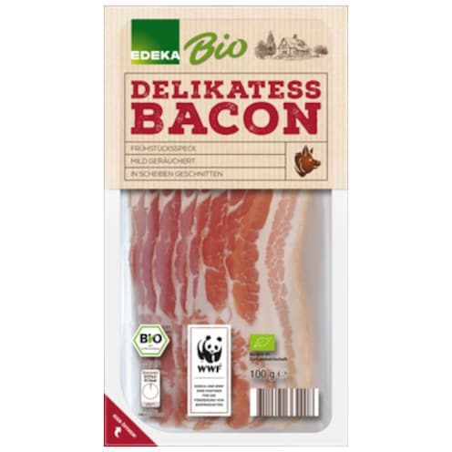 EDEKA Bio Bacon 100 g