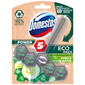 Domestos WC-Stein Power 5 Eco Pack Gurke & frische Blätter 55 g