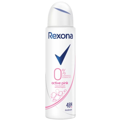 Rexona Active Pink Deo-Spray ohne Aluminium 150 ml