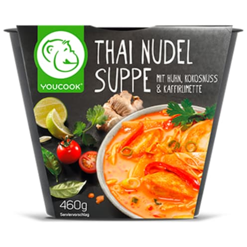 YOUCOOK Thai Nudel Suppe 460 g