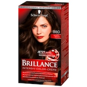 Schwarzkopf Brillance Intensiv Color Creme 880 Dunkelbraun 143 ml