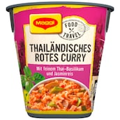 Maggi Food Travel Cup Thailändisches Rotes Curry 46 g