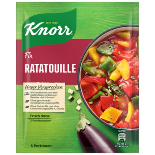 Knorr Fix Ratatouille für 3 Portionen