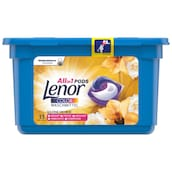Lenor All in 1 Pods Colorwaschmittel Goldene Orchidee 13 Waschladungen