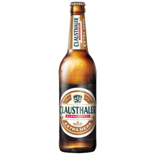 Clausthaler Extra Herb 0,5 l