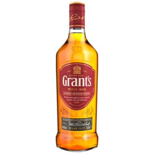 Grant's Triple Wood Blended Scotch Whisky 40 % vol. 0,7 l