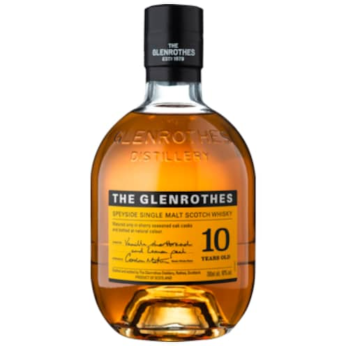 The Glenrothes Speyside Single Malt Scotch Whisky 10 Years 40 % vol. 0,7 l